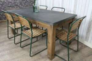 Custom Made Concrete Tables - Outdoor/Indoor