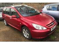 7 Seater - 2005 Peugeot 307 SW 1.6 HDI SE - £450 Read Ad