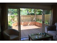 Lovely 2 bedroom property with private decked garden