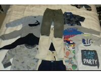 bundle of boys clothes age 2-3