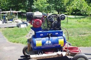 8 hp Portable Gas Powered Compressor