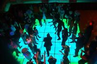 Sexy up your wedding dance with our LED DANCE FLOOR RENTAL!