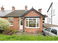 Let Agreed: Lovely 2-Bedroom Semi-Detached Bungalow in Stranmillis (with garden)