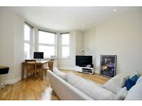 Modern 1 bedroom PERIOD CONVERSION with WOOD FLOORS and huge lawned communal garden