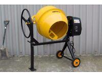 Brand new cement mixer