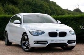 BMW 1 Series. 3 Door Hatchback in White