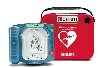 Philips Heartstart Onsite Hs1 Aed Package - Biomed Certified - Warranty