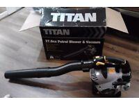 Petrol leaf blower & vacuum