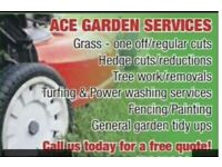 Grass cutting / gardener Falkirk