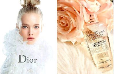 Dior Cleansing Water (🍎Christian Dior Refreshing Cleansing Water For Face And Eyes 6.8 oz. Rare HTF  )