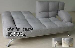 Rio sofa bed with a very strong metal frame Southport Gold Coast City Preview
