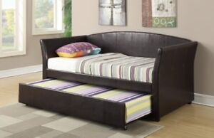 Twin bed raised frame