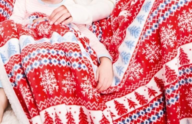 Fair Isle Fleece Blankets (Christmas Decor) | in Gorebridge ...