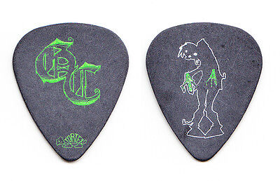 Good Charlotte Billy Martin Caricature Black Guitar Pick - 2006 Tour