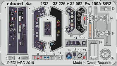 Eduard PE 32952 1/32 Focke-Wulf Fw-190A-8/R2 interior details Revell