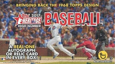 2017 Topps Heritage High Number Factory Sealed Hobby Box BELLINGER ROOKIE