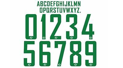 Chapecoense 2016 Away Build Your Own Football Shirt Nameset 2 Numbers 10 Letters image
