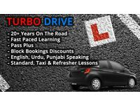 Driving Lessons - 20+ Years Experience - Bradford Area - English/Urdu/Punjabi