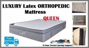 Queen Bed Mattress ORTHOPEDIC Latex Top Mattress DELIVERED FREE New Farm Brisbane North East Preview