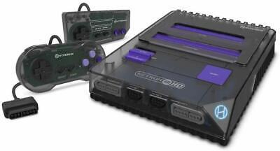 Hyperkin RetroN 2 HD Gaming Console for Nintendo NES/SNES/Super Famicom - Black 1