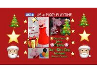 Christmas Party Peppa Pig, Present, Cake, Photos, Dancing, Singing etc...