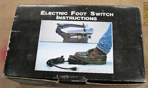 Foot Switch For Scroll Saw