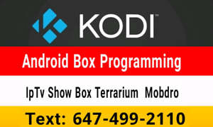 ❤  Android Boxes Programming / Selling / Iptv  Repair fix update