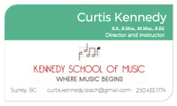 *** MUSIC LESSONS *** - Kennedy School of Music -