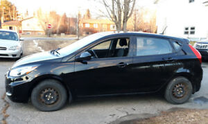 2012 Hyundai Accent Hatchback - fuel sipper - fun to drive!
