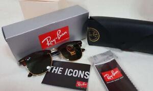 Brand New Ray-Ban Rayban Clubmaster Club Masters Sunglasses