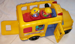 Fisher Price Little People Musical Lil Movers School Bus London Ontario image 2