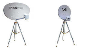 BELL / TELUS / SHAW DIRECT DISH OR TRIPOD FOR CAMPING
