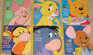 6 x Pooh Just Be Nice Books London Ontario image 1
