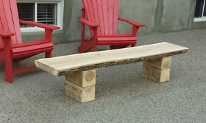 Hardwood Bench *Delivery Available *