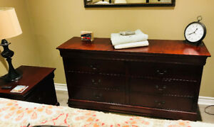 Lyla Cherry Night table and Dresser