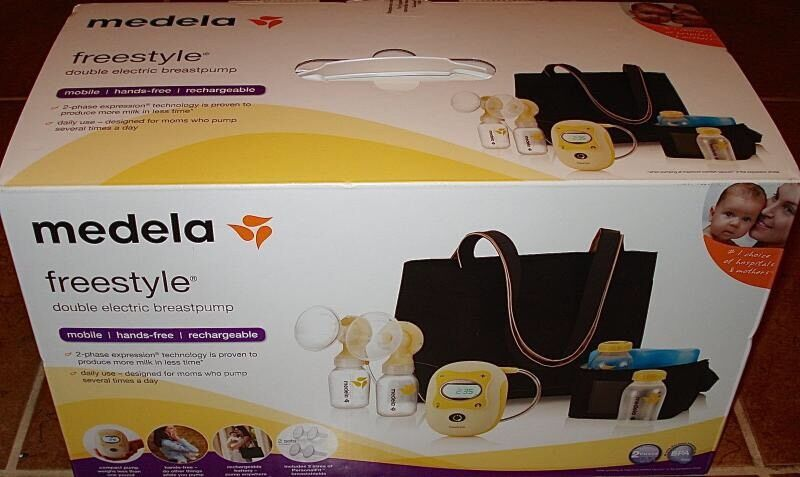 Medela Freestyle Double Electric Breast Pump  In Sea -8382