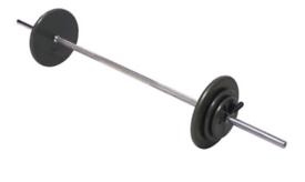 6 foot barbells standard weight plate