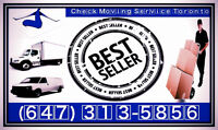 Check Moving Service Toronto, WITH LISTED MOVER SERVICE PACKAGES