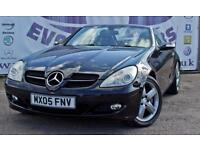 2005 MERCEDES SLK SLK350 AUTOMATIC SAT NAV BLACK LEATHER SEATS REAR PARKING SENS