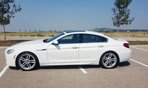 0 DOWN LEASE OR BUYOUT BMW 650 GRAN COUPE M-PACKAGE 20 WHEELS