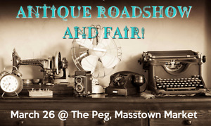 ANTIQUE ROADSHOW & FAIR!