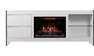 Almost new electric fireplace