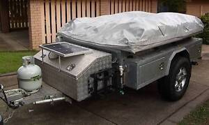 4X4 Offroad Hamilton HD Galvanised Camper Trailer has every thing Redcliffe Redcliffe Area Preview