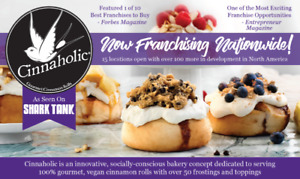 Cinnaholic is expanding!