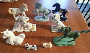 Franklin Mint Unicorns all of them Kitchener / Waterloo Kitchener Area image 1