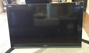 52 inch Toshiba flat screen TV with wall mount