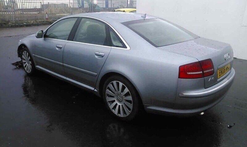 AUDI A TDI QUATTRO K DAMAGE REPAIRABLE SALVAGE CAT N In - Audi a8