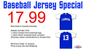 Cheapest Baseball Jerseys in Canada!!!
