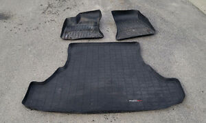 Weather Tech Floor Mats & Trunk Liner (2014 Dodge Charger RWD)