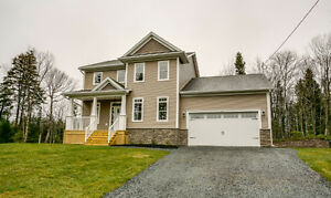 Beautiful new build in Hammonds Plains with unfinished basement